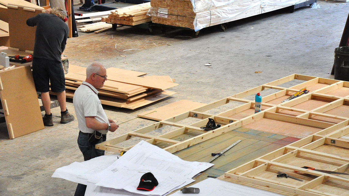 Carpentry Workshop at Cardiff Theatrical Services